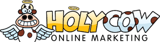 Holy Cow Online Marketing Retina Logo